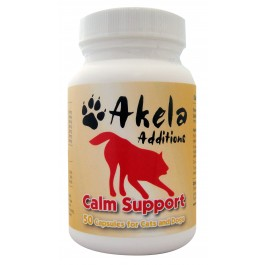 Akela Additions Calm Support For Dogs & Cats 50 Tablets