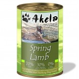 Akela Grain-Free Complete Wet Working Dog Food 70% Lamb 400g VAT FREE
