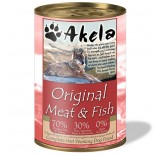 Akela Grain-Free Complete Wet Working Dog Food Original 70:30 400g VAT FREE