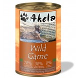 Akela Grain-Free Complete Wet Working Dog Food Game 70:30 400g VAT FREE