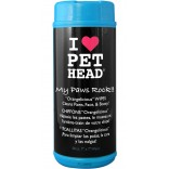 Pet Head My Paws Rock Paw Wipes 50 Pack