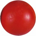 Kong Dog Toy Ball Solid Rubber Red Medium / Large 8cm