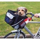 Trixie Front-Box Dog Bike Carry Bag 38 × 25 × 25 cm Black/Grey