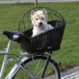 Trixie Bicycle Dog Basket For Rear Carrier With Lattice 35 × 49 × 55 cm Black