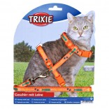 Cat Harness With Lead Pretty Design Nylon Various Colours