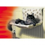 Kumfy Kradle Cat Bed Cream Radiator Bed Wide Style