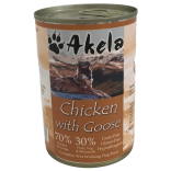 Akela Grain-Free Complete Wet Working Dog Food Duck & Rabbit 70:30 400g VAT FREE