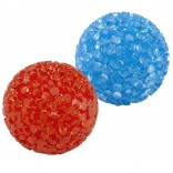 Ferplast Neon Cat Toy Balls For Interactive Cat Toys PA 5200 2 Pack Small 4 cm