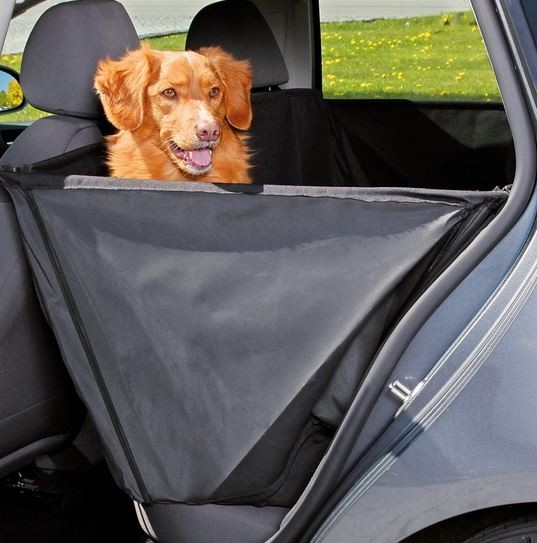 Trixie Dog Car Seat Cover With Sidewalls Door Protection 150 X 135m Black