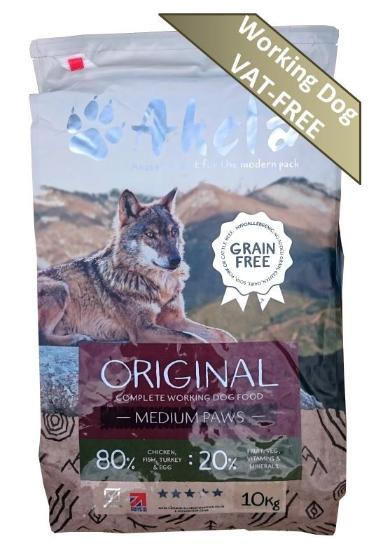 Akela 80 20 Original Grain Free Working Dog Food Not For Chicken